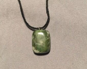 Green River Stone Pendant