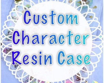 Character Resin Phone Case