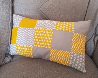Patchwork Rectangular Cushion