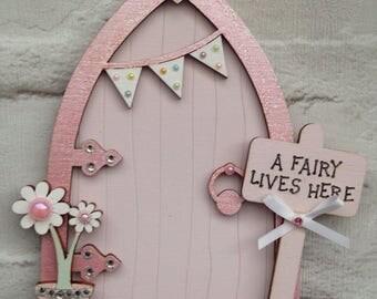 Magical Light Pink Fairy Door