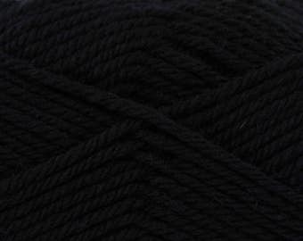 King Cole Merino Blend Aran - Black (775)