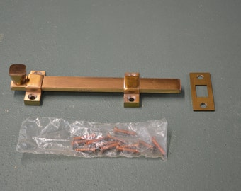 Bronze Door Latch,  Bronze Door Bolt, Door Slide Bolt, Commercial Latch,  #253