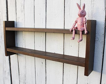 Wooden Shelf Wall Shelf Rustic Home Decor