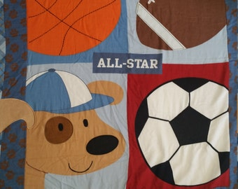 All Star Sports Baby Comforter