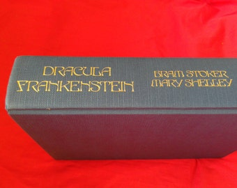 Dracula and Frankenstein collected edition. Vintage 1984