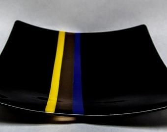 Square Decorative Dish - E2589