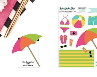 Beach Sticker for any Planner