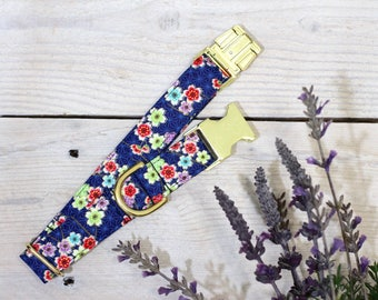 Exclusive Japanese Sakura Cherry Blossom Dog Collar  - Everyday Collection