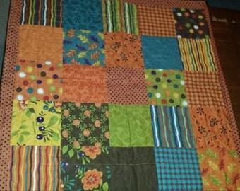 Vintage Retro Style Table Top Patchwork Quilt Center Piece