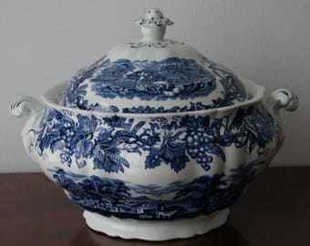 Soup Tureen British Scenery Booths Made in England