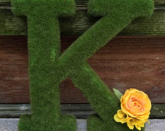 Moss letters available one B,P,W, and two K