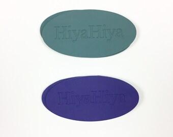 HiyaHiya Needle Grips, 2Pc Set Cable Grips Interchangeable Tool, Circular Needle Part, Interchangeable Part Red Needle Grips Circular Grips