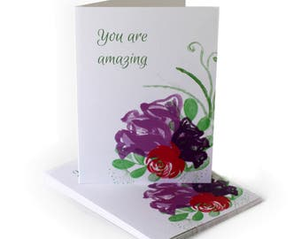 You Are Amazing Encouragement Greeting Card