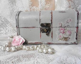 Altered jewelry box