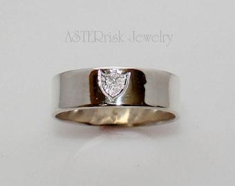 CTR Ring - Sterling Silver Shield