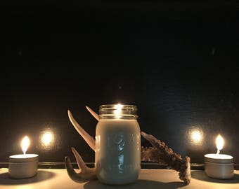Naturally Scented, Soy Wax Candle Set In A Mason Jar