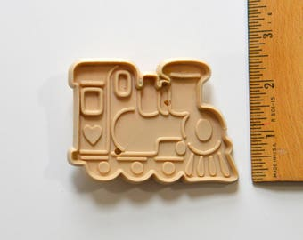 Vintage ALLSTAR TRAIN ENGINE Cookie Cutter | 1980s 3.25""