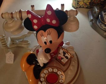Minnie Mouse land line working telephone line