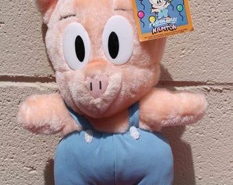Vintage Tiny Toon Hamton Plush Stuff Toy 1992