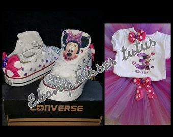 Minnie mouse / Converse set