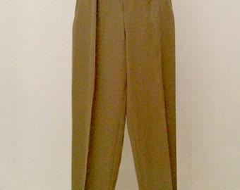 Vintage Calvin Klein wool trousers 1970s