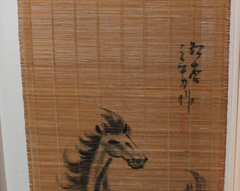 Chinese Horse Wall Hanging