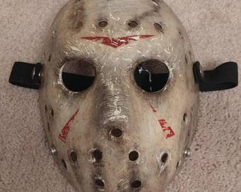Elite 2009 Friday the 13th 2009 Remake hockey mask