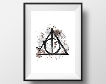 Harry Potter, The Deathly Hallows *Instant Download*