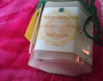 Solar Plexus Soul Healing Salt Scrub