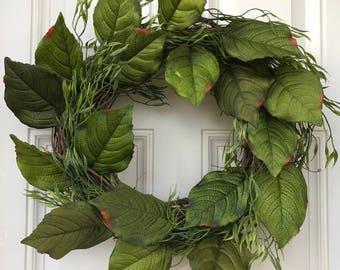 Farmhouse Greenery Wreath