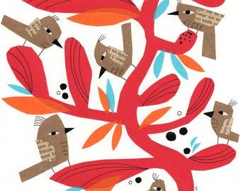 Red Branch & Birds