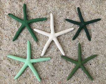 St. Patrick's Day Coastal Starfish Garland