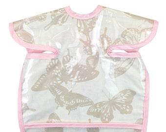 Shabby Butterfly Apron Bib