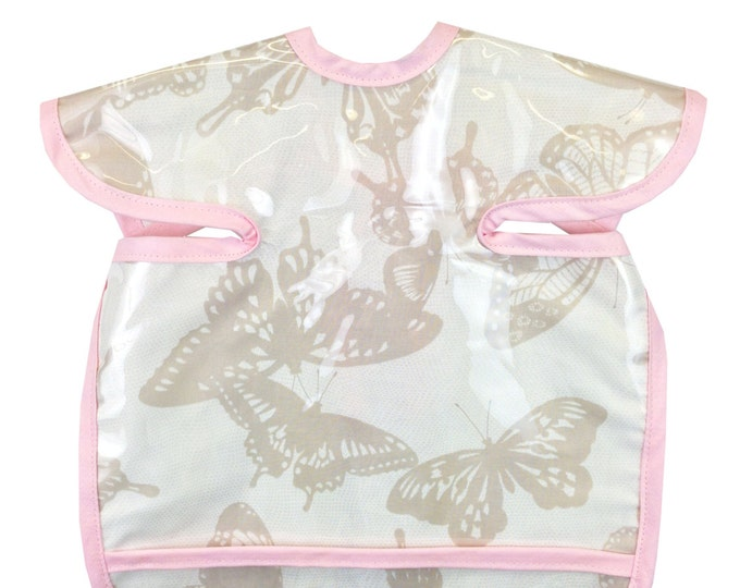 Featured listing image: Shabby Butterfly Apron Bib