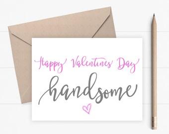 Valentine Card for boyfriend for husband for him Romantic Valentines Day Card for him Love Card for boyfriend or husband
