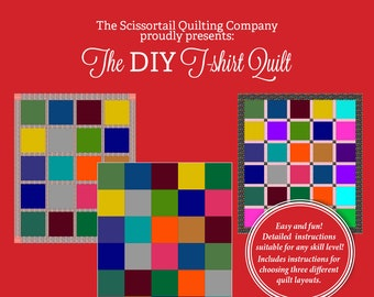 The DIY T-shirt Quilt Pattern