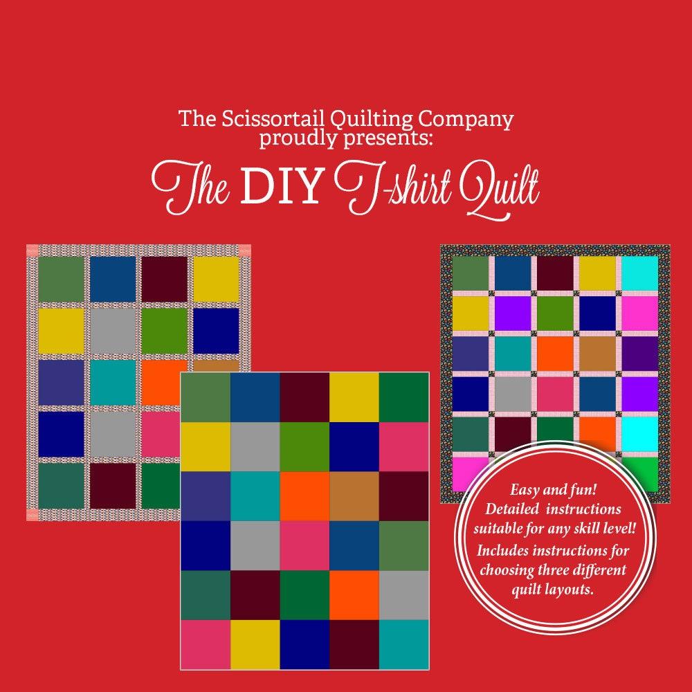 T-shirt quilt design instructions - The Diy T Shirt Quilt Pattern