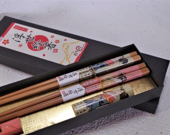 Chopsticks and chopstick rests    Traditional crafts of Japan. It is the unused goods. SHIPPING   FREE!
