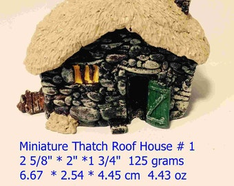 Minature 3D Fairy House in Hydrostone