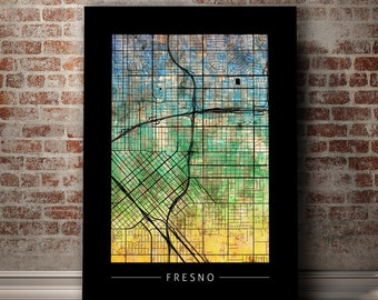 home decor stores in fresno fresno watercolor etsy 12513