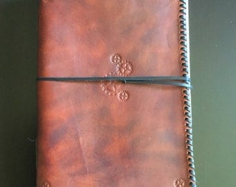 A5 Leather Journal: Engineer Design