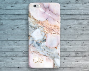Monogram iPhone Case iPhone 7 Case Monogram iPhone 6 Case Initials iPhone 6S Case iPhone 7 Plus iPhone 5S 5 Case iPhone SE Case Personalized