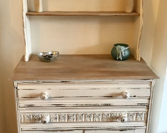 sold please contact for custom orders shabby chic country style distressed dresser sideboard storage