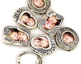 6 Inspirational Photo Frame Beads 9375-f4