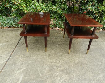 Mid Century Modern End Tables