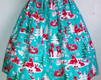 Too Cute Christmas skirt