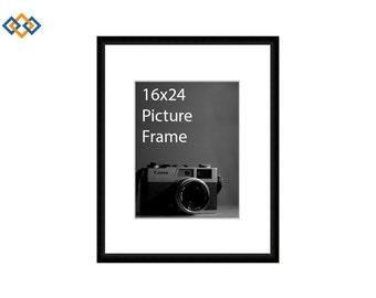 16x24 standard picture frame black
