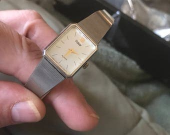 Vintage silver Pulsar watch