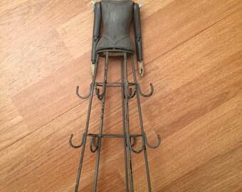 Wear jewelry shaped Figurine doll
