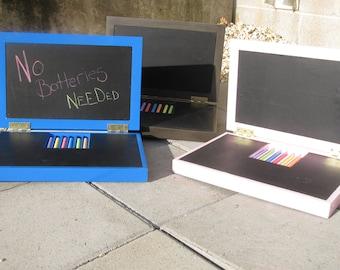 No Batteries Needed, Travel Chalkboard Laptops